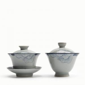 180 ML Japanischen stil Vintage Handgemalte Muster Keramik Porzellan Teekanne Kung Fu Tee-Set Pu'er Pot Drinkware Wasserkocher