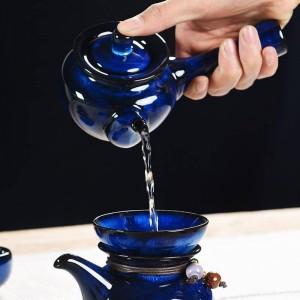 250 ml Kreative Teekanne Keramik Porzellan Glasur Handgriff Topf Tee Wasserkocher Kung Fu Tee-Set Drink Dekoration für Geschenke