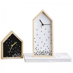 Meistverkaufte Produkte Moderne Einfache Uhr Dekoration Kreative Schlafzimmer Desktop Nordic TV Schrank Uhr Pendel