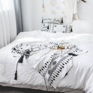 Bohemia Throw Blanket Sofa Dekorative Schonbezug Luxus Cobertor Weihnachtsschmuck Home Anti-Rutsch-Nähte Plaid Decken