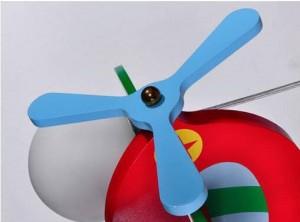 Kinderzimmer holz modell flugzeug pendelleuchten kinder schlafzimmer niedlichen cartoon flugzeug leuchten kinderzimmer dekoration lampe