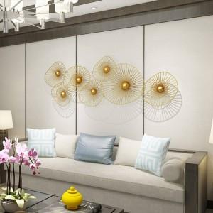Kundenspezifische neue helle Luxuswand-Dekorations-kreative Hauptwand-hängende Sofa-Hintergrund-Dekoration