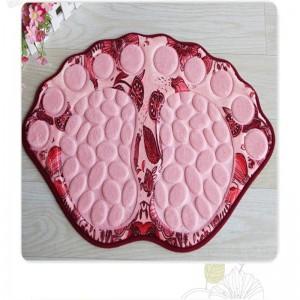 Bodenmatte für Bad Dusche Teppich für Bad Anti Rutsch Bad Matte Bad Teppich wasserdichte Fußmatte für Dusche WC Teppich Tapete