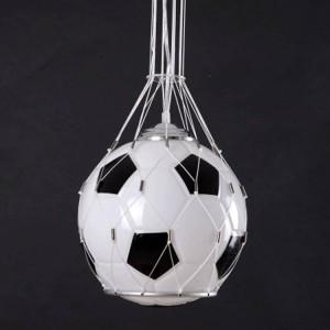 Foottball Lampe Fußball Licht Pendelleuchte Kinderzimmer Glas Hängeleuchte Kinder Weihnachtsgeschenke Jungen Geschenk
