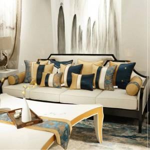 High-End Club Kissenbezug Cojines Decorativos Para Sofa Edle Luxus Kissenbezug Patchwork Geometrie Dekorative Kissen