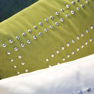 Wohnkultur Designer Luxus 3D Dekokissen Abdeckung Samt Handgemachte Perlen Kissenbezug Stuhl Sofa Royal Family Funda Cojines