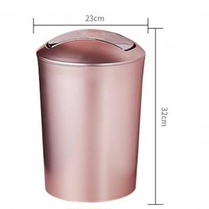 Große Kapazität 10L Europäischen Stil Durable Mülleimer Kunststoff Mülleimer mit Deckel Bad Küche Mülleimer Liefert