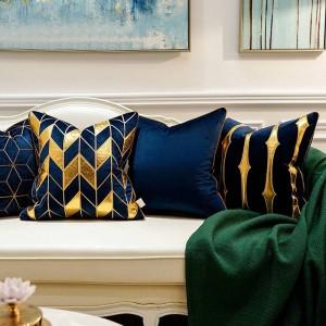 Luxus Kissenbezug Unregelmäßige Geometrische Stickerei Kissenbezüge Almofada Coussin Cojines Decorativos Para Sofa Frauen Für Zuhause