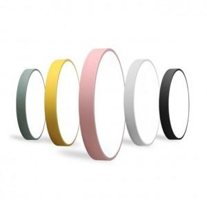 macaron deckenleuchte runde farben eisen lampenkörper acryl lampenschirm foyer kinderzimmer deckenleuchte led leuchte förderung