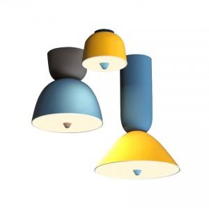 Moderne Deckenleuchte LED Farbe Ice Cream Deckenleuchten & Beleuchtung Schlafzimmer Wohnzimmer Restaurant Hängelampen Küche