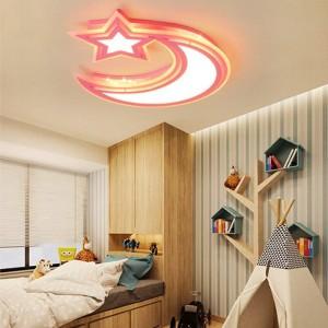 Moderne deckenleuchten weiß blau rosa farbe für jungen und mädchen schlafzimmer kabinett lampe decke leuchten