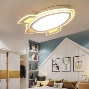 Neue Deckenleuchte Raketenform für Kinderschrank Schlafzimmerlampe Deckenbeleuchtung lamparas de TECHO Abajur