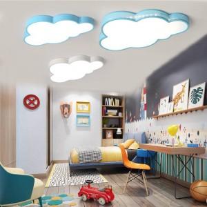 Neue Deckenleuchte LED Birne weiße Farbe Fernbedienung Wolke Typ Schlafzimmer Wohnzimmer Lampe Teto