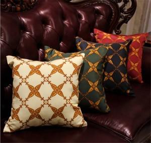 Neue Wohnkultur Kissenbezug Europäischen Luxus Kissenbezug Tuch Stoff Dekokissen Fall Schlafzimmer Sofa Kissenbezüge Geschenk, 1 stück