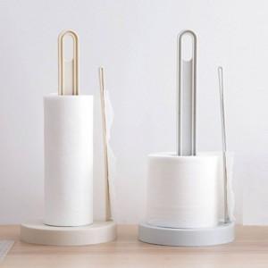 Veranstalter Runde Rolle Bad Küche Werkzeuge Halter Lagerregal Seidenpapier Handtuchständer Langlebig