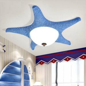 Rosa geführte Starfishlampen-Deckenbefestigungen für das Schlafzimmer des Kindes führten Glasdeckenlampenumkleidezimmeroberflächenlicht