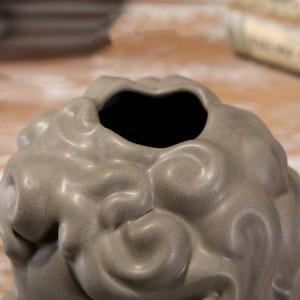 Einfarbig keramik blume einfügen engel vase niedliche dekoration verkaufen niedliche blume schreibtisch schreibtisch schlafzimmer büro dekorationen