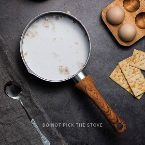 14/16/18センチ医療石小さな牛乳鍋ノンスティックストックポット調理鍋ベビーフードスープ鍋用ガスクックランド電磁調理器