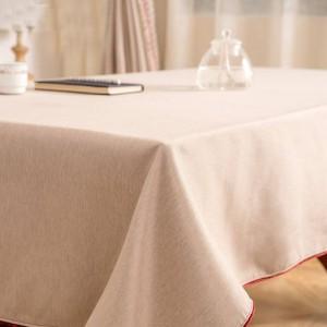 高級固体テーブルクロスToalhaデメサ家庭用クリーニング用品テーブルクロス受け入れカスタムマントルズパラメサ、車のカバー