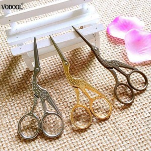 2ピース合金ヴィンテージ花柄はさみ仕立て屋梅花テーラーはさみアンティーク縫製はさみ用針仕事ナイフ