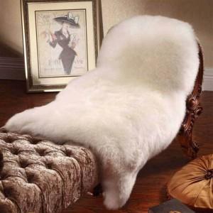 カーペットマットオーストラリア100%リアルウールカーペット敷物椅子カバーパッドシープスキンのリビングルームのフロアマット