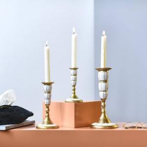 ホームデコレーションローソク足ホテルモデルルームローソク足装飾テーブルロマンチックなローソク足