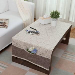 高級テーブルクロス和風Toalhaデメサユーロ小さなテーブルクロスポケットデザインダイニングベッドサイドキャビネットテーブルカバー