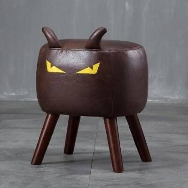 Creative Devil trucco sgabello in legno massello mobili di design scarpe per la casa sgabello sgabello da toeletta sgabello rimovibile