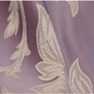 Fodera per cuscino Nordic di lusso Geometria Romantica Viola Ricamo di lusso Gettare Cuscino decorativo Copertura per auto Housse De Coussin