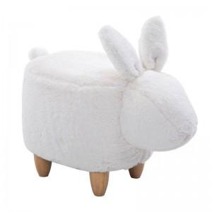 35% di sconto in vendita! Pouf sedia lanugine divano divano sgabello pouf sacchetto di fagioli giocattoli per bambini poggiapiedi poggiapiedi in legno massello nordico arredamento per la casa