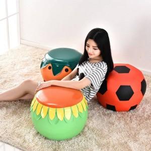 Sgabello di scarpe di frutta creativa sgabello panchina divano panca molo scarpe moda