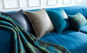 Fodera per cuscino Postmoderno Metallico Federe Federa Morbida similpelle Biancheria da letto in pelle Modello di casa Camera Decor cojines almofadas
