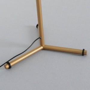 Lampada da tavolo moderna Lampada G9 creativa Lampada da tavolo in vetro bianco paralume semplice lampada da ufficio decorazione personalità
