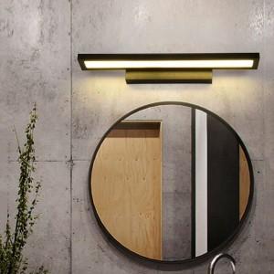 Lampada da parete a LED moderna AC90-260V Applique a LED Lampada da parete industriale montata Lampada da sospensione per bagno Acciaio inossidabile impermeabile