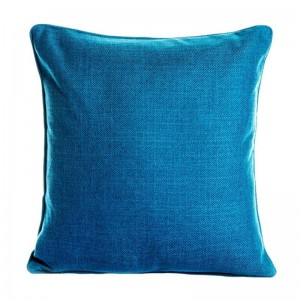 New addensare solido lino fodera per cuscini cuscini di tiro caso di legname auto copre Almofada Pug Housse De Coussin, divano / casa / arredamento hotel