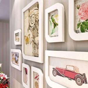 Combinazione cornice per foto cornice per parete cornice per foto di moda cornice per foto scatola di lana decorazione di cerimonia nuziale decorazione domestica regalo