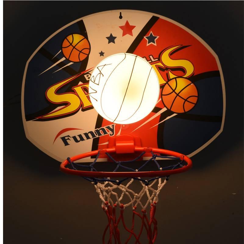 kindergarten Basketball lamp wall light fixture for Dining Room kid's Bedroom Lamp Children room net Wall Lamp Glass wall sconce